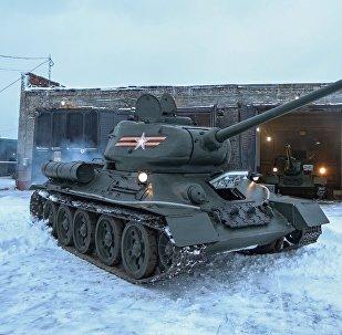 Средний танк Т-34. Архивное фото