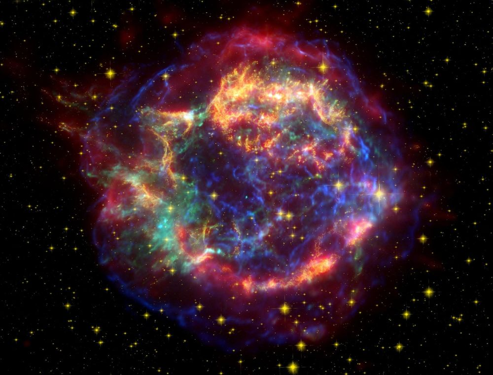Сверхновая Cas A в созвездии Кассиопеи помогла ученым раскрыть судьбу планет Солнечной системы после смерти Солнца