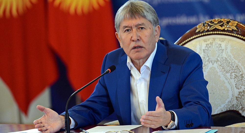 Экс-президент Кыргызстана Алмазбек Атамбаев. Архивное фото