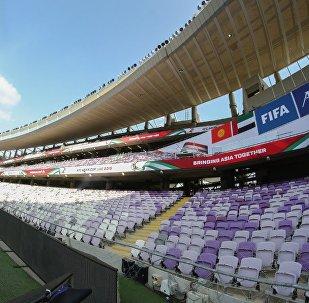 Стадион Hazza Bin Zayed в ОАЭ