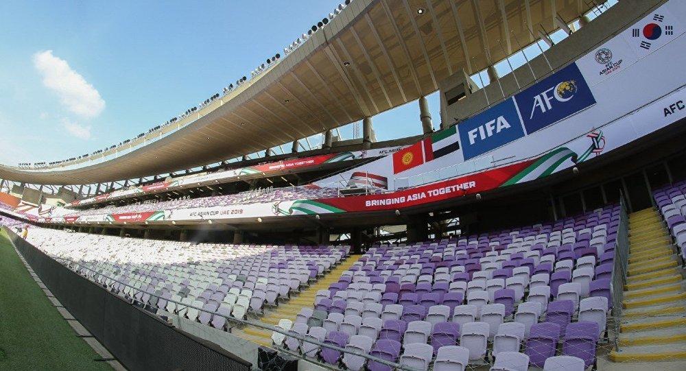 Кыргызстандын Футбол федерациясы бүгүн Кыргызстан менен Түштүк Кореянын командалары ойной турган Бириккен Араб Эмирлигиндеги оюн талаанын сүрөтүн жарыялады