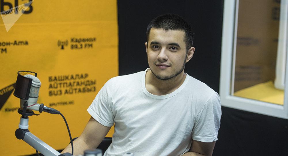 Владелец одной из кофеен Бишкека Акмаль Эгембердиев