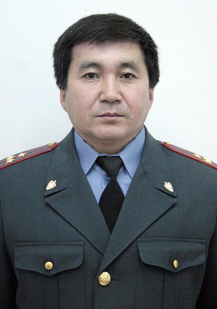 Начальник пресс-службы МВД КР Сеитов Бакыт