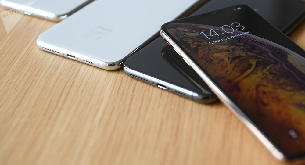 iPhone уюлдук телефондору. Архивдик сүрөт