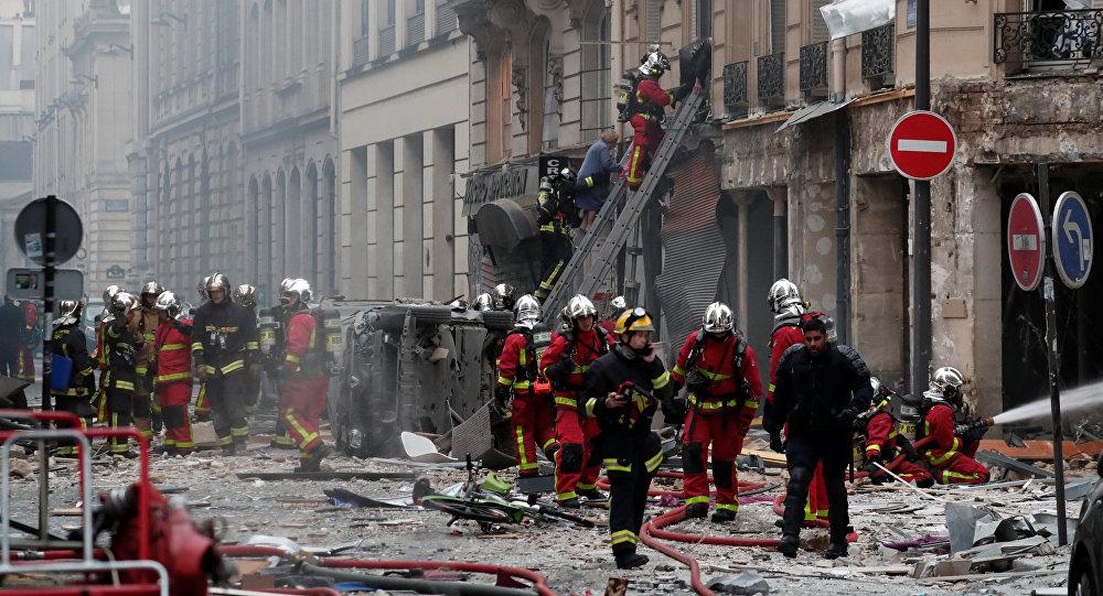 Взрыв в Париже
