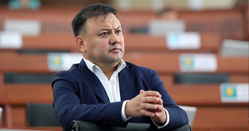Депутат ЖК 6 созыва Таабалды Тиллаев от фракции Республика – Ата-Журт.