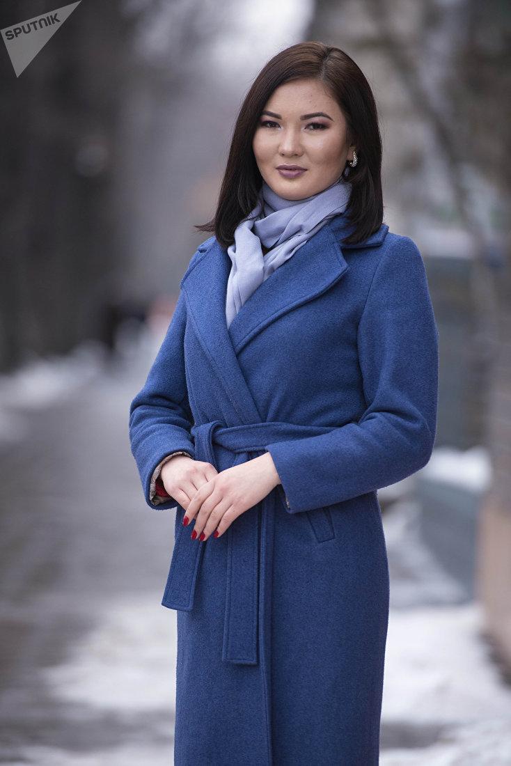 Поэт и журналист Рыскуль Изатова