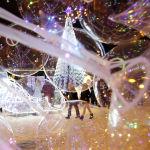 Так выглядит новогоднее оформление в белорусском Минске. Этот город занял первое место в рейтинге.