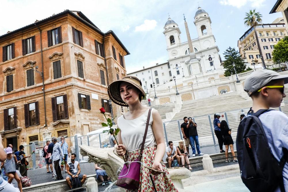 На шестом месте оказалась итальянская столица Рим