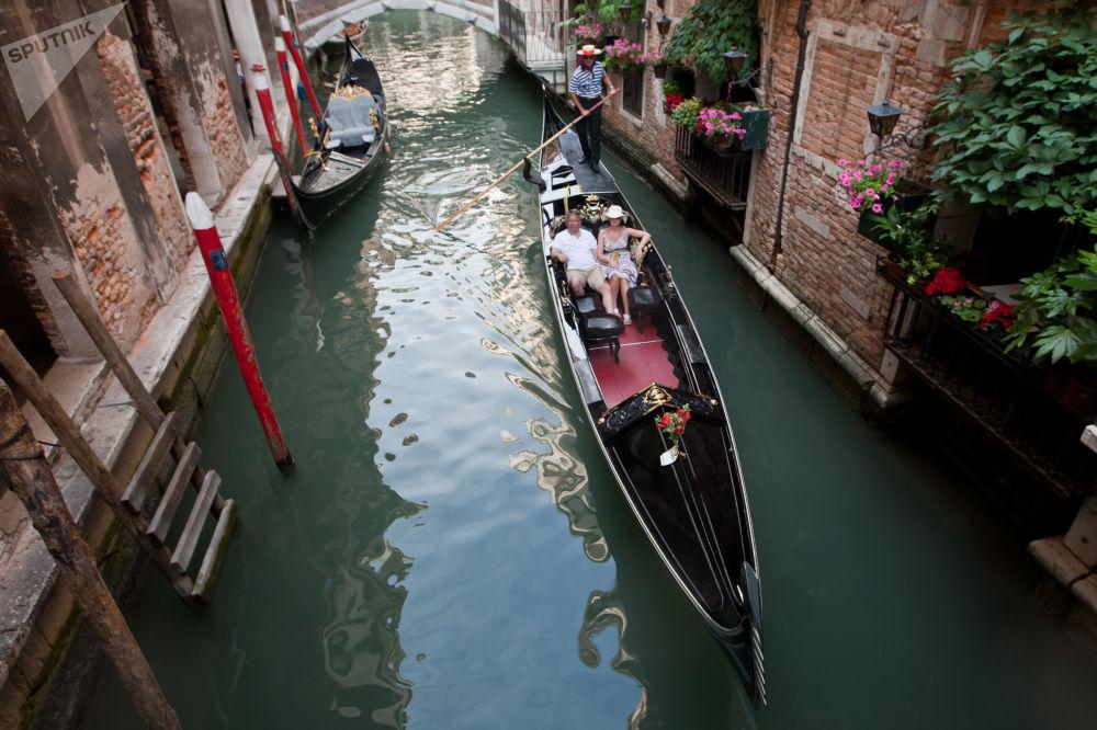 В рейтинг попала и итальянская Венеция с ее знаменитыми каналами