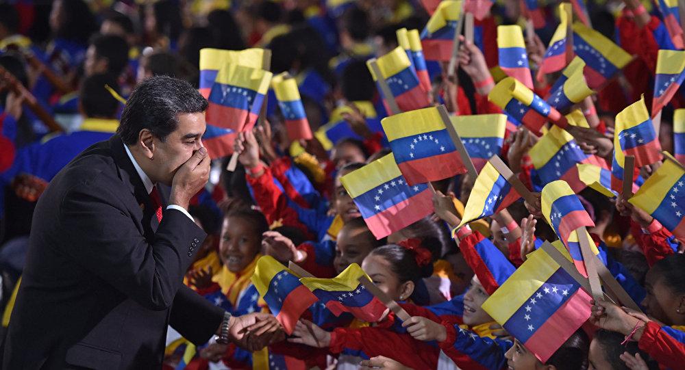 Президент Венесуэлы Николас Мадуро на церемонии инаугурации в качестве главы государства до 2025 года