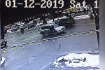 В Бишкеке Subaru Forester сбил пешехода на Зебре — видео момента наезда