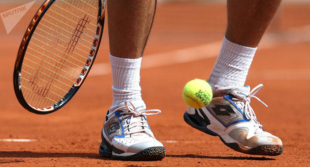 Теннисист. Архивное фото