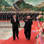 Ким Чен Ын 7-10-январь күндөрү Си Цзиньпиндин чакыруусу менен Кытайда болду. Бул түндүккореялык лидердин бир жылга жетпеген убакытта аталган өлкөгө төртүнчү ирет барышы.