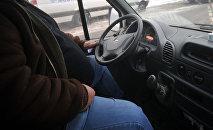 Маршруттук такси. Архивдик сүрөт