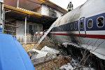 Грузовой самолет Boeing 707 который вылетел из Бишкека врезался в жилой комплекс в Карадже (пригороде Тегерана). 14 января 2019 года