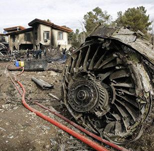 Крушения самолета, летевшего из Бишкека в Иран