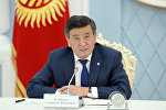 Президент Сооронбай Жээнбеков. Архивдик сүрөт