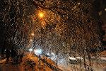 Улица после ледяного дождя. Архивное фото