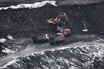 Добыча угля на месторождении. Архивное фото