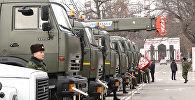 Как выглядит техника, которую Россия передала Кыргызстану, — видео