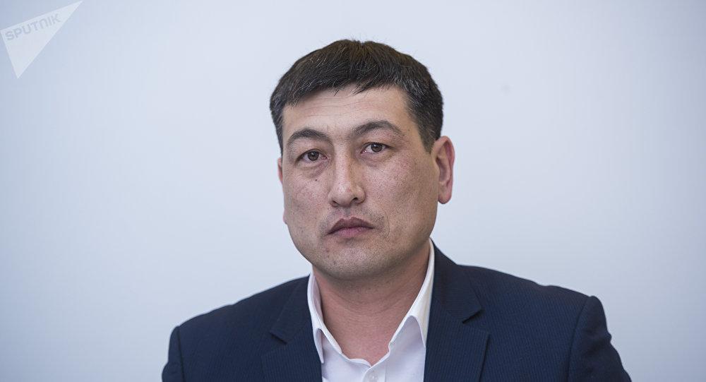 КРдин Мамлекеттик салык кызматынын камсыздандыруу төгүмдөрү бөлүмүнүн башчысы Султан Укуев