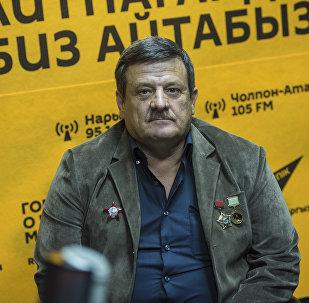 Ветеран войны в Афганистане, кавалер ордена Красной Звезды Сергей Якиманский
