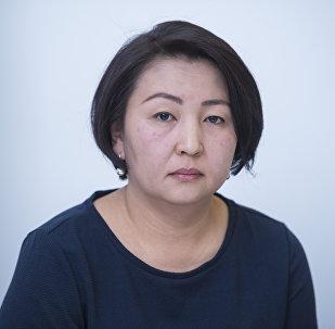 Социалдык фонддун кирешелер башкармалыгынын башчысы Нуржан Урустамова