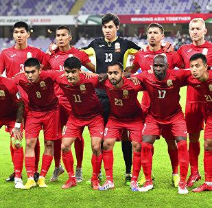 Футболисты сборной Кыргызстана