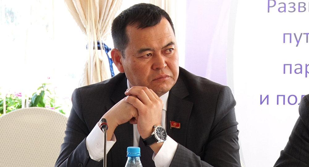 Вице-спикер Мирлан Бакировдун архивдик сүрөтү