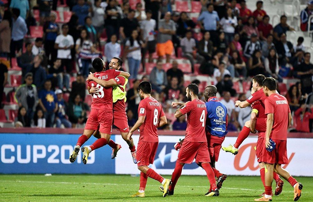 Сборная Кыргызстана вышла в плей-офф, поскольку команда Вьетнама не смогла обыграть йеменцев со счетом 3:0