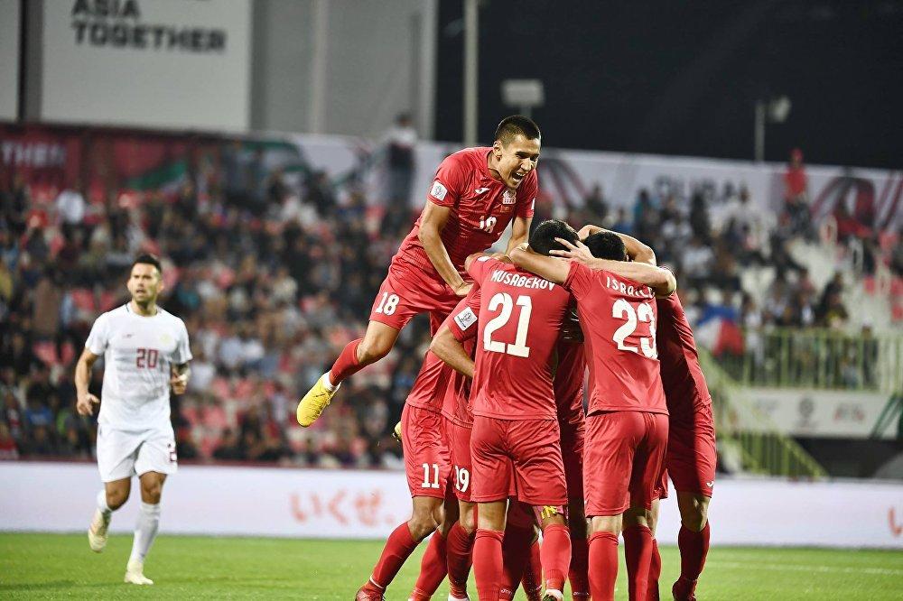 Сборная КР впервые участвует в Кубке Азии