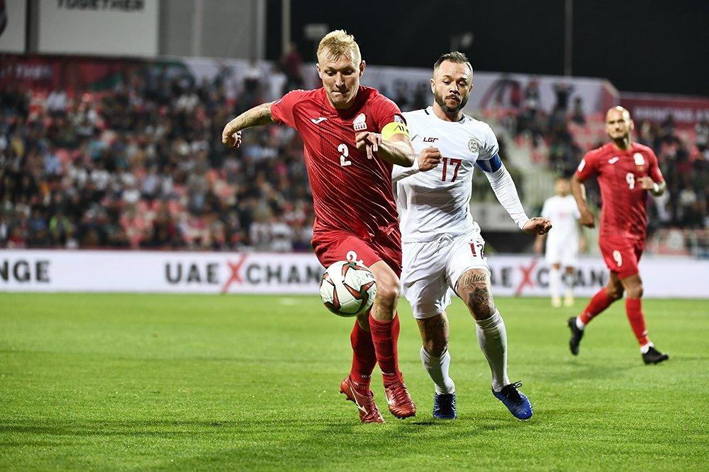 Капитан сборной Кыргызстана Валерий Кичин цементировал оборону