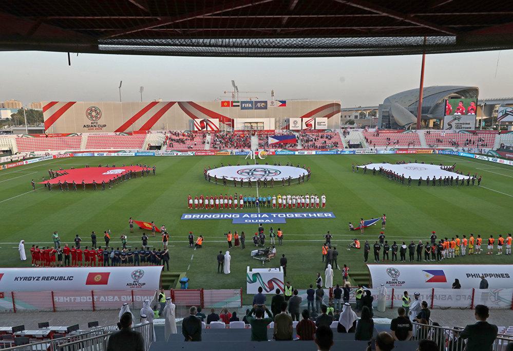 Матч проходил на стадионе Мактум Бин Рашид Аль Мактум в Дубае (ОАЭ)