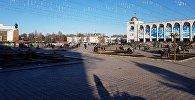 Бишкектеги Ала-Тоо аянтындагы митинг соңуна чыгып, чогулгандар тарады