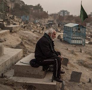 Кладбище в районе Karte Sakhe в Кабуле. Архивное фото