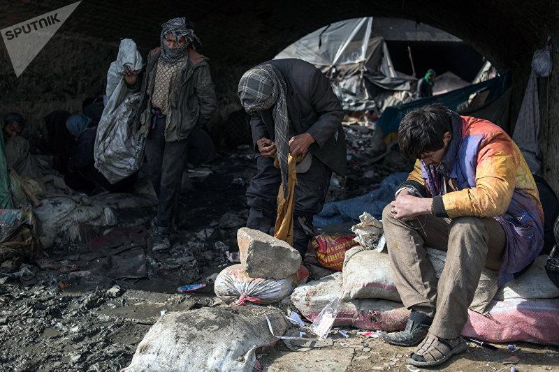 Наркопритон в Кабуле