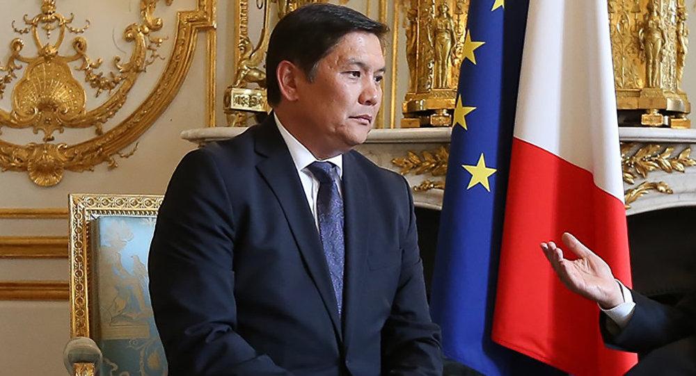 Посол КР во Франции и Бельгии Асеин Исаев