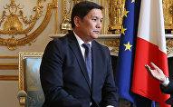 Назначенный послом Кыргызстана в Индии Асеин Исаев. Архивное фото