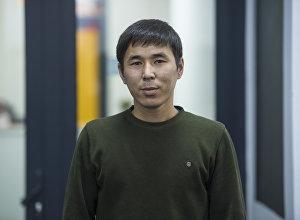 Спорт баяндамачы Эркинбек Абдуллаев