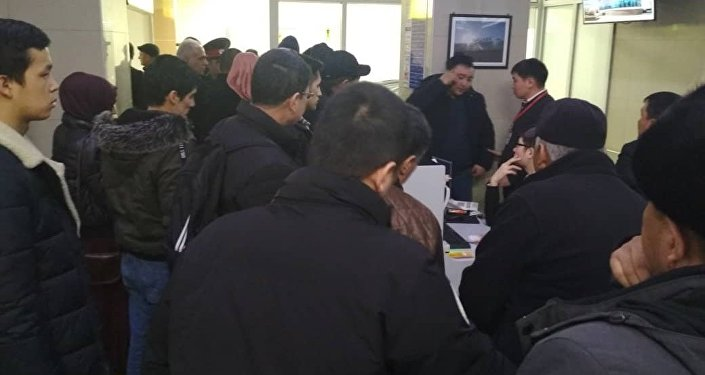 Отмена авиарейса Бишкек-Ош