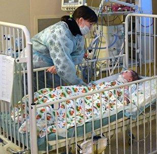 11-ти месячный Ваня Фокин в НИИ неотложной детской хирургии и травматологии