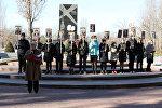 В Бишкеке прошел митинг-реквием, посвященный 76-й годовщине прорыва блокады Ленинграда