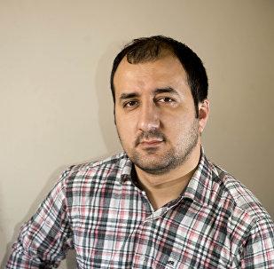 Режиссер Азербайджанского государственного академического драматического театра Анар Садыков