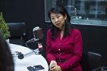 Sputnik Кыргызстан агенттигинин жооптуу редактору Канышай Бешбаева
