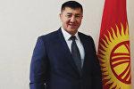 Бишкек шаарынын Ленин райондук администрациясынын жаңы башчысы Чынасыл Чыныбаев. Архивдик сүрөт