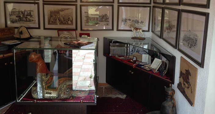 Эки бөлмөлүү имараттан турган үй-музей Бишкек шаарында 2017-жылы 18-мартта ачылган