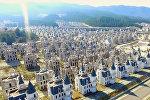 Город-призрак с диснеевскими замками сняли на видео в Турции