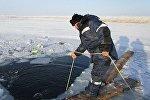 Провал под лед автомобиля с людьми  в Восточно-Казахстанской области