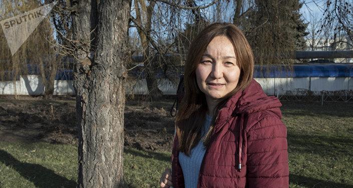Азиздердин кыргыз федерациясынын жетекчиси Гүлназ Жүзбаева